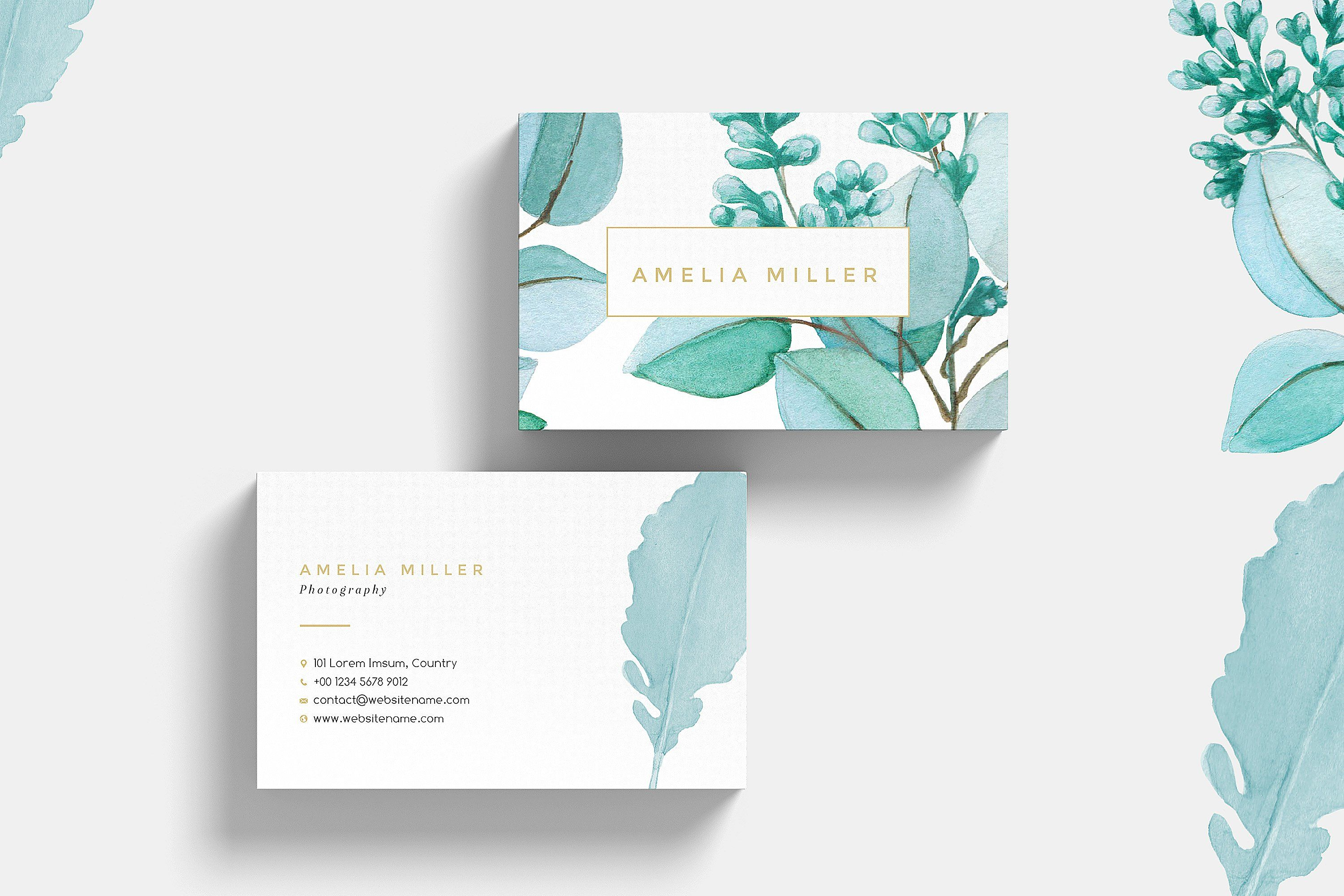 Botanical Garden I Business Card | Business cards, Business and ...