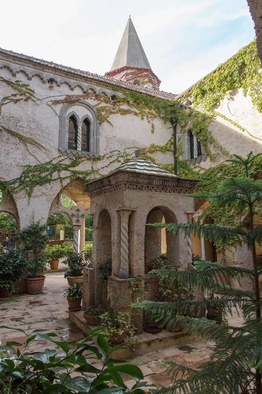 Villa Cimbrone, Ravello Italy vacation, Italy