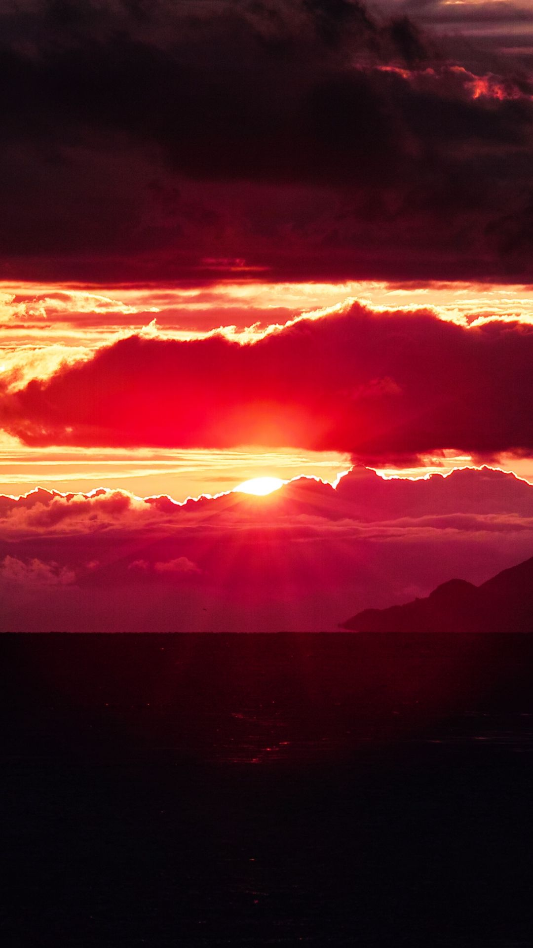 MuchaTseBle 4k background, Sunset