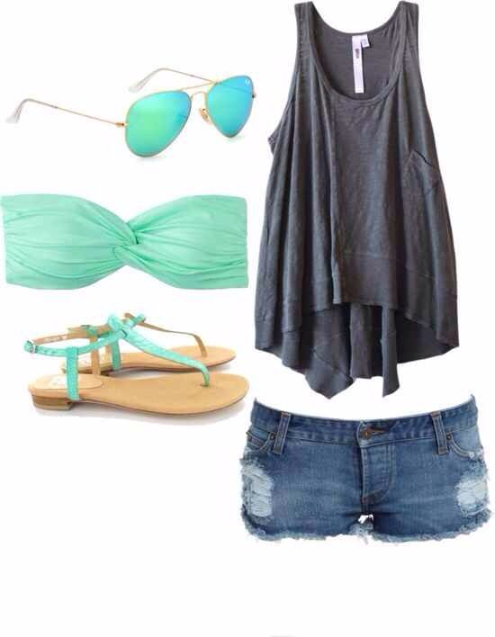 This is my kind of summer outfit!