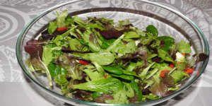 Gemischter Blattsalat Rezept Frische Salat Rezepte Blattsalat