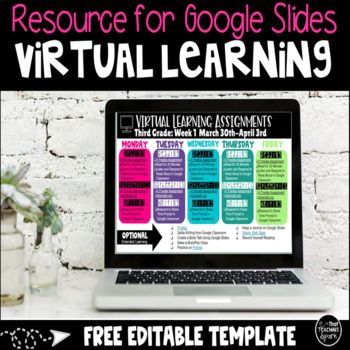 Going Crazy With Distance Learning Need Some Ideas On How To Be Organized And Get Information Out To Your In 2020 Learning Template Distance Learning Digital Learning