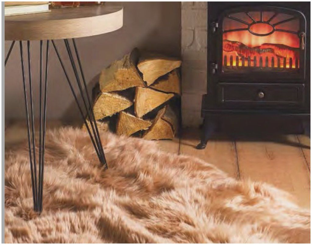 Luxurious Australian Wool Sheepskin Rug Quad 190x170cm Rox Beige
