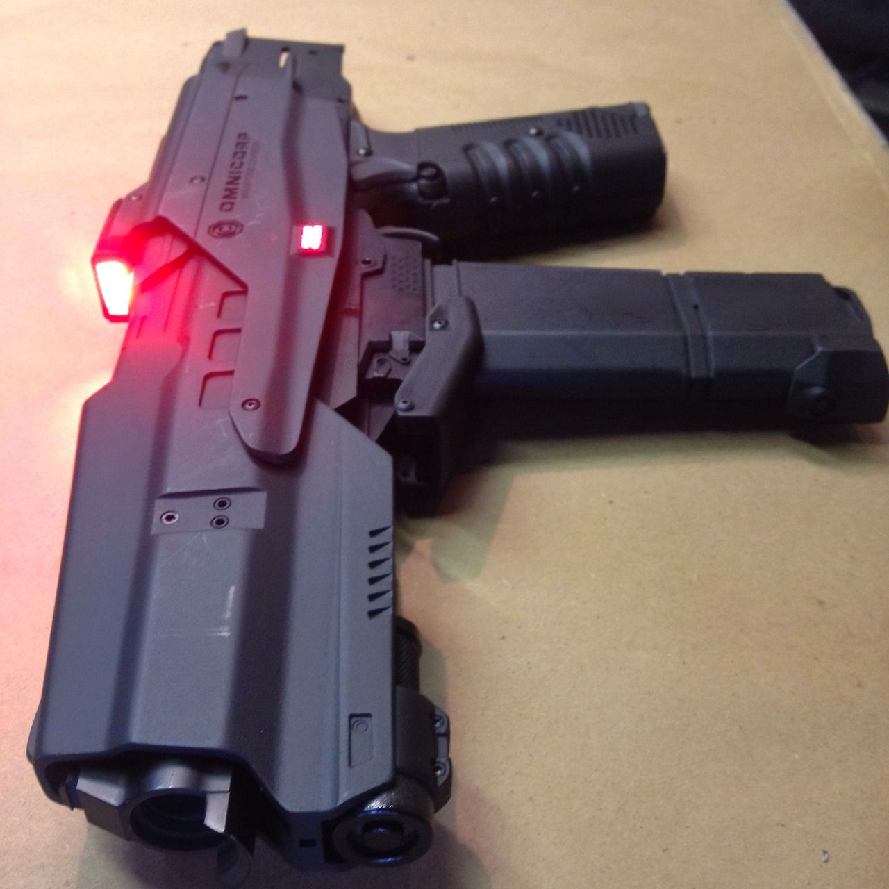 Omnicorp Weapons Division M2 Battle Rifle. The Auto 50 .50