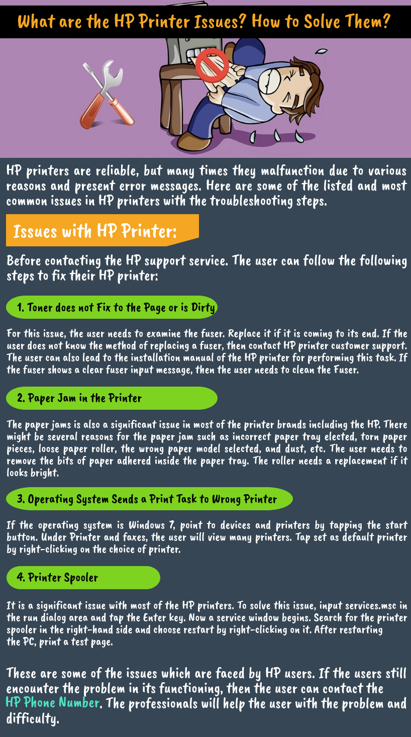 What are the #HP_Printer_Issues? How to Solve Them