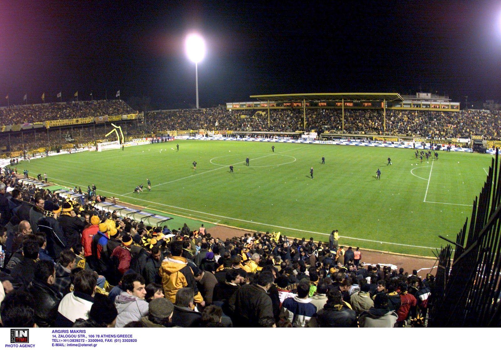 fb75e08cb771 AEK FC    Νέα φιλαδέλφεια    Στάδιο Νίκος Γκούμας
