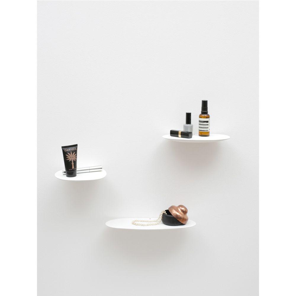 Isola Ceramic Shelf Studio Brichetziegler Set Of 3 Almond Green