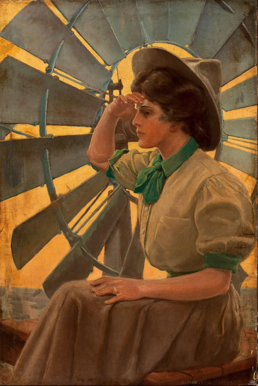 American illustrators (20th Century) часть 7 Cowgirl art