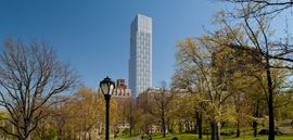 With The Launch Of 1214 Fifth Avenue Which Has 53 Stories The Upper East Side Of Manhattan Is Getting Its Tallest Luxury Rental Luxury Luxury Rentals Avenue