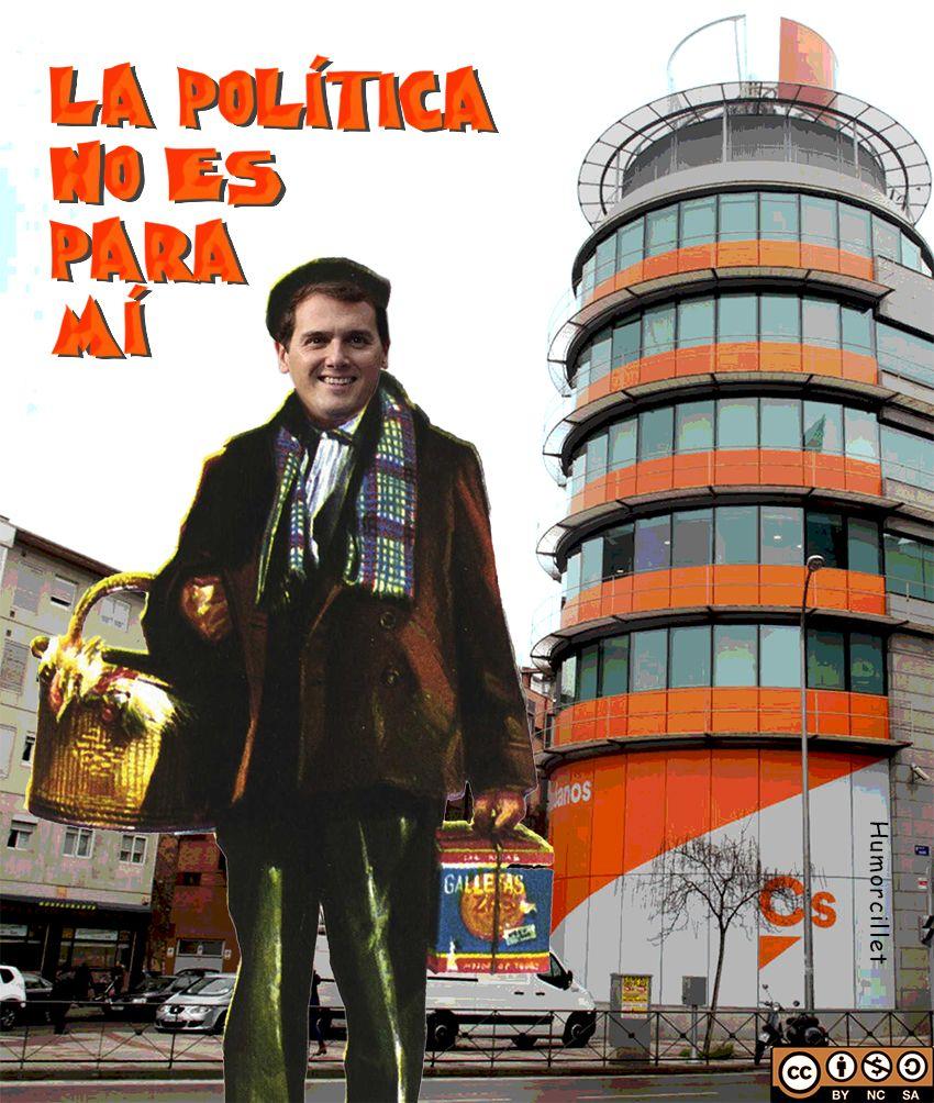 Albert Rivera deja la política Albert rivera, Carteles