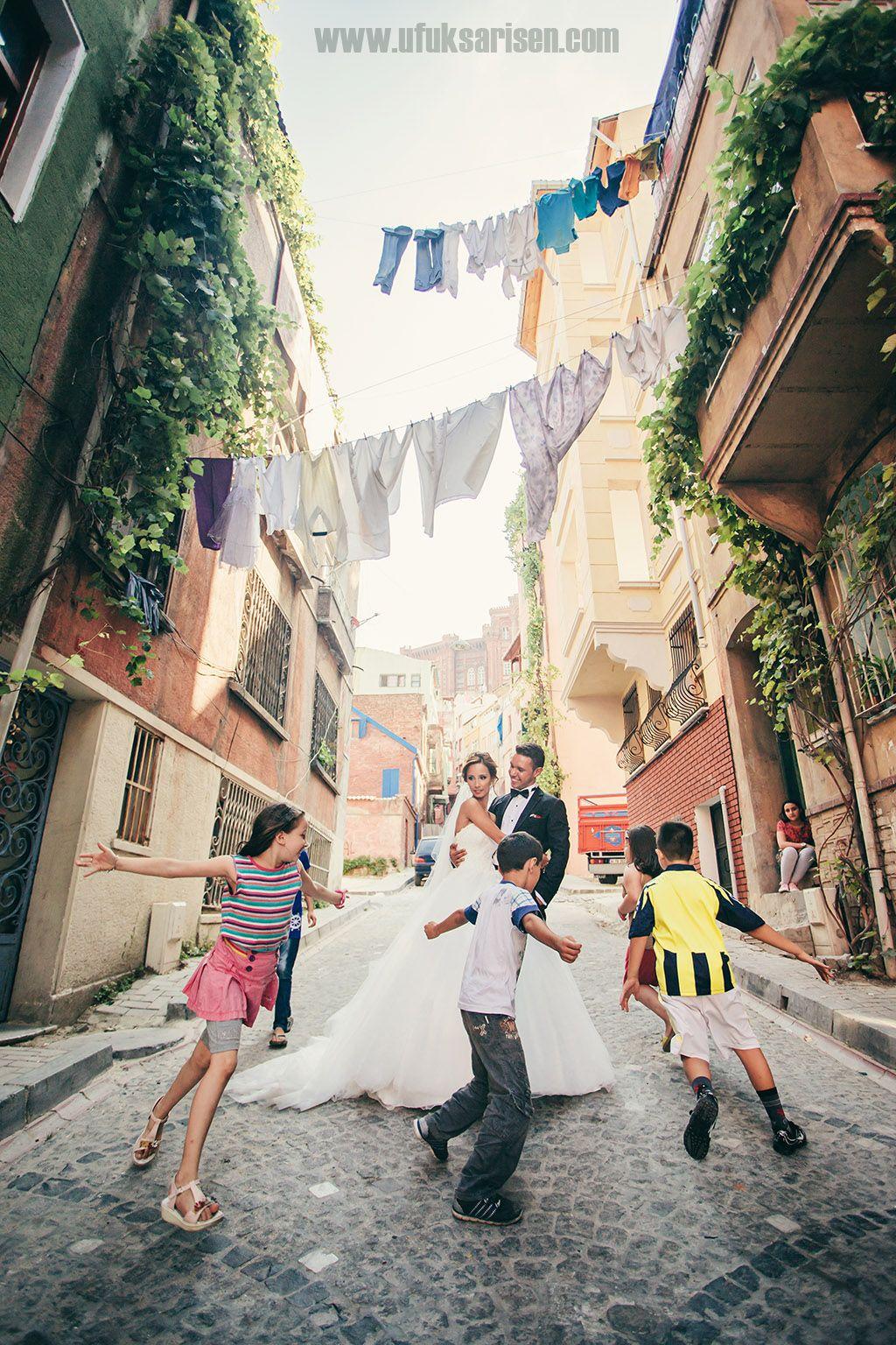 Eski İstanbul'da Düğün Çekimi - Düğün Fotoğrafçısı