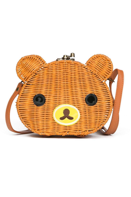Bear Straw Bag | Pinup Girl Clothing