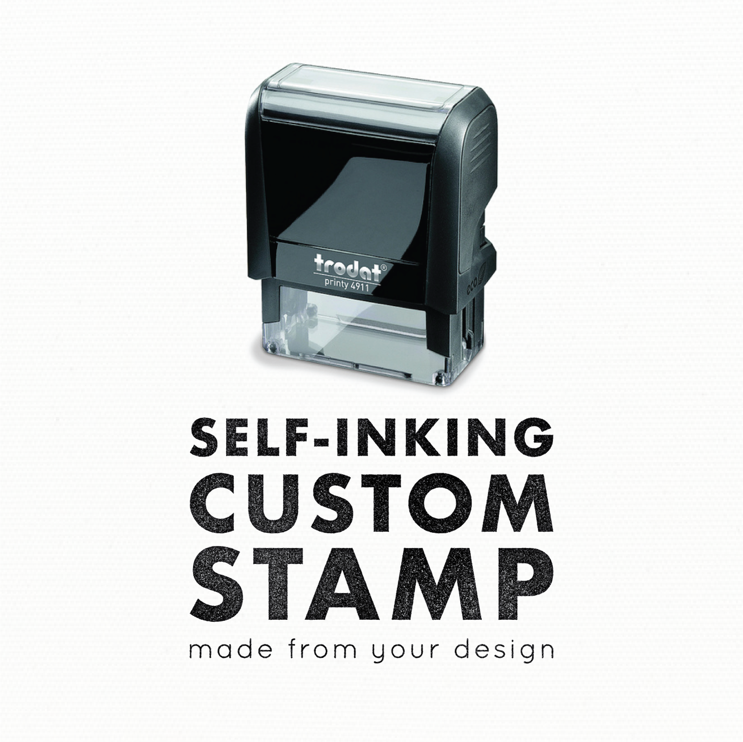 Self Inking Custom Made Rubber Stamp