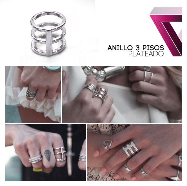anillo 3 pisos ring
