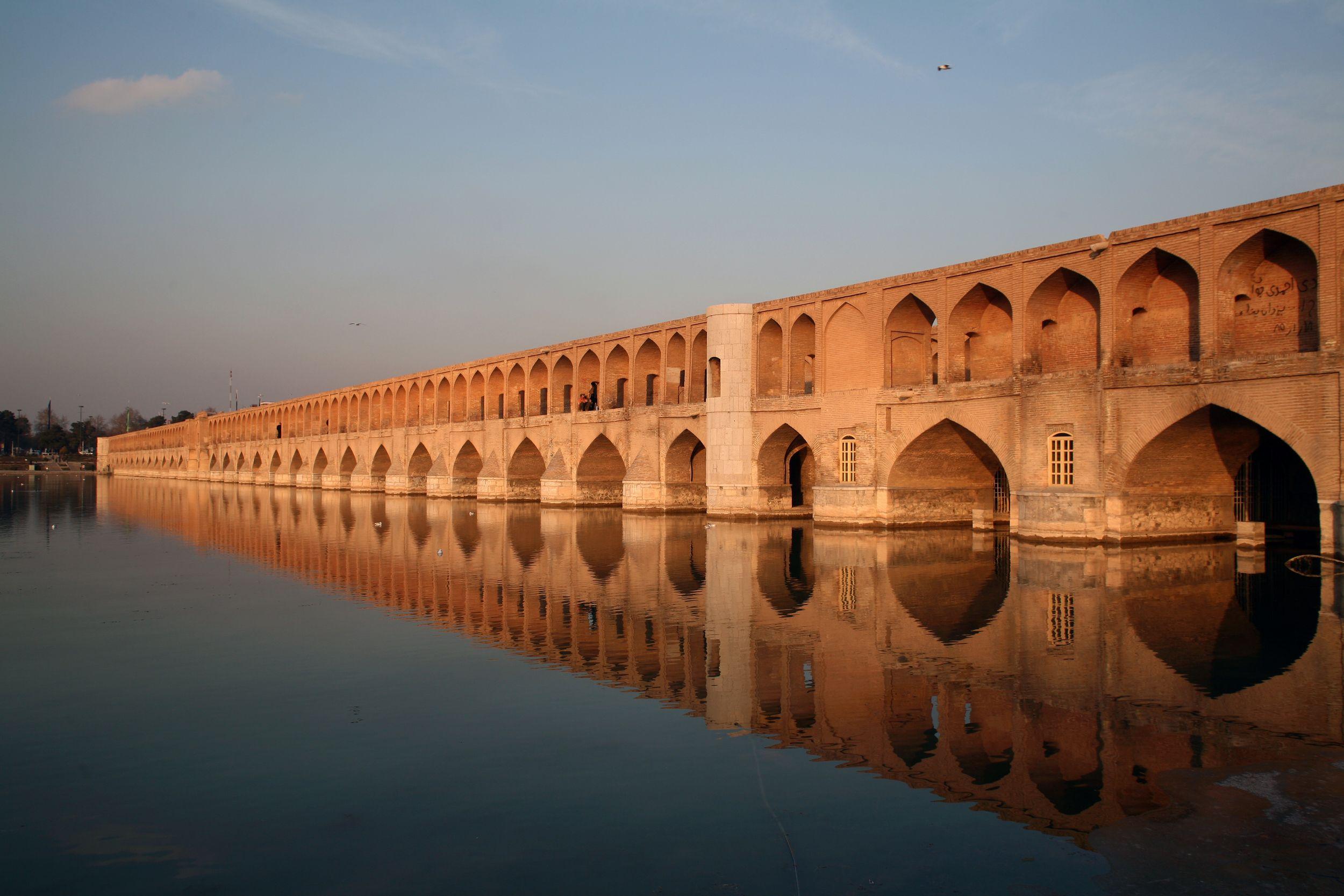 Si o se Pol Persian bridge or bridge of