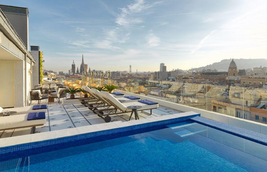 Chill.Out Terrace  #h10cubik #cubik #barcelona #h10 #hotel #hotels