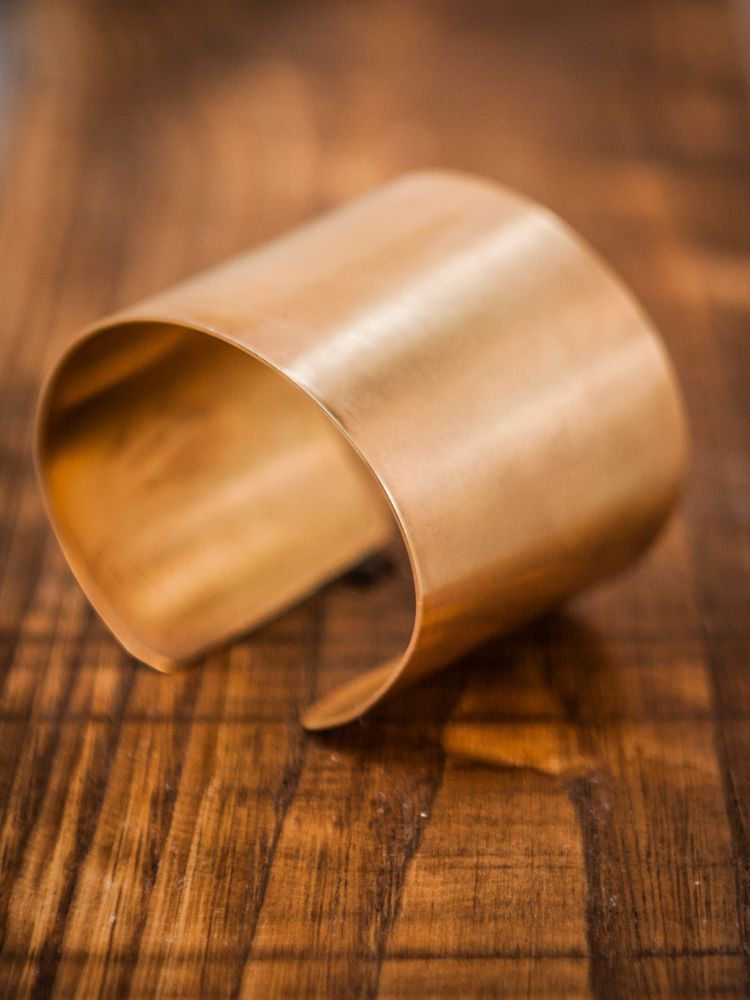 Greek handmade Cuff Bracelet 18ct Goldplated #Handmade #Cuff