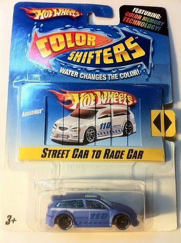 Hot Wheels Color Shifters Audacious 1 64 Scale Collectible