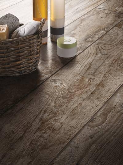 Daltile Wood-Look Tile Looks Just Like Hardwood With