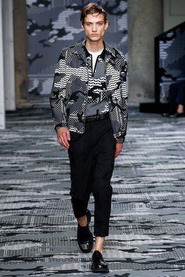 Neil Barrett Spring 2016 Menswear Fashion Show: Complete Collection - Style.com