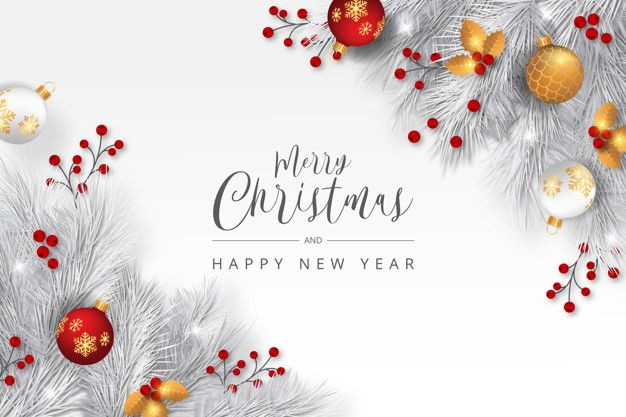 Download Elegant Christmas Background With White Branches For Free Christmas Background Christmas Images Merry Christmas Images
