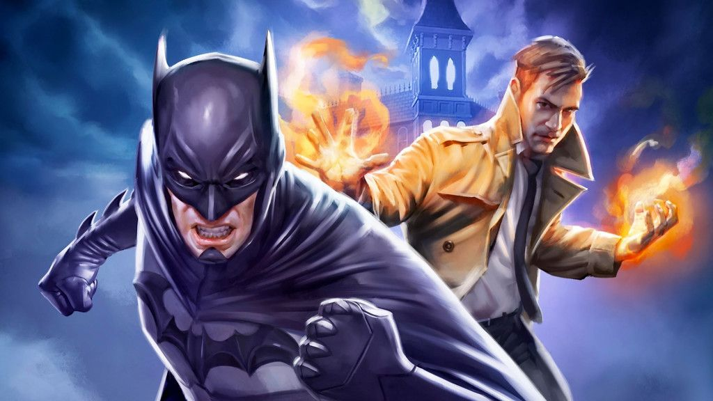 Justice League Dark Animated Movie Batman Constantine
