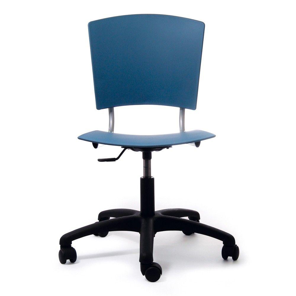Comprar online silla con ruedas de oficina con asiento y respaldo en ...