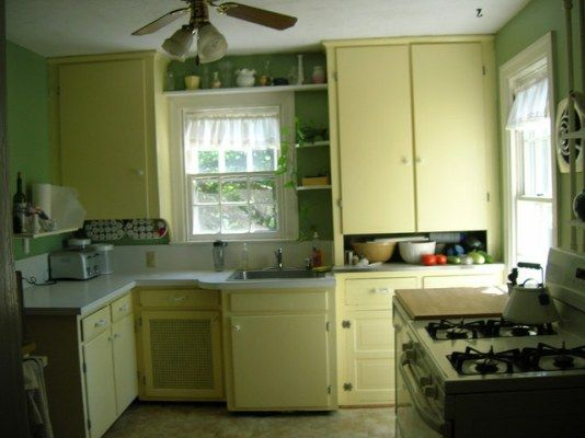 1930s kitchen on pinterest 1930s kitchen kitchens and for Kitchen cabinets 50 style