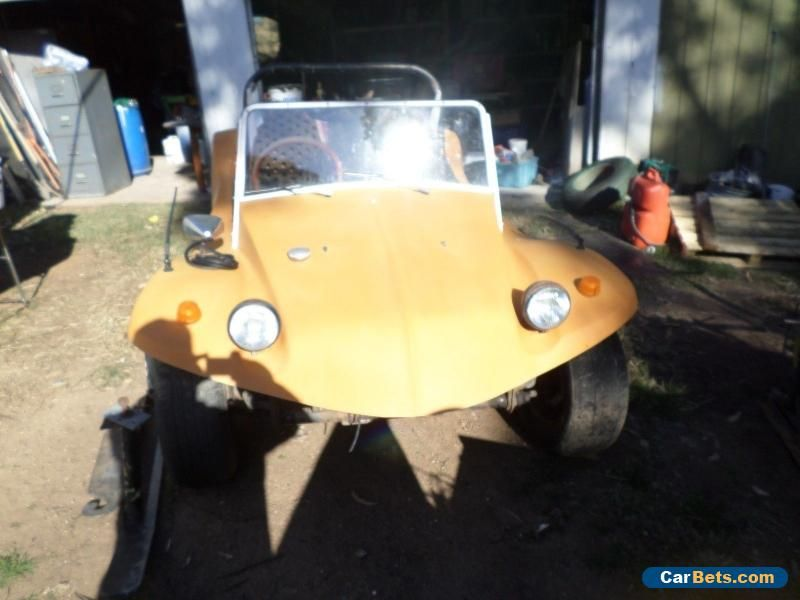 vw dune buggy orange in colour 1300cc manual been sitting