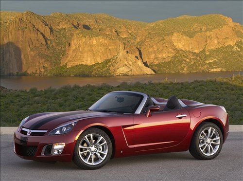 Vehicle · Saturn Sky.