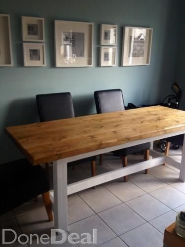 Handmade Dining Table For Sale In Cork 550 Donedeal Ie Kitchen Sale Handmade Dining Table Dining