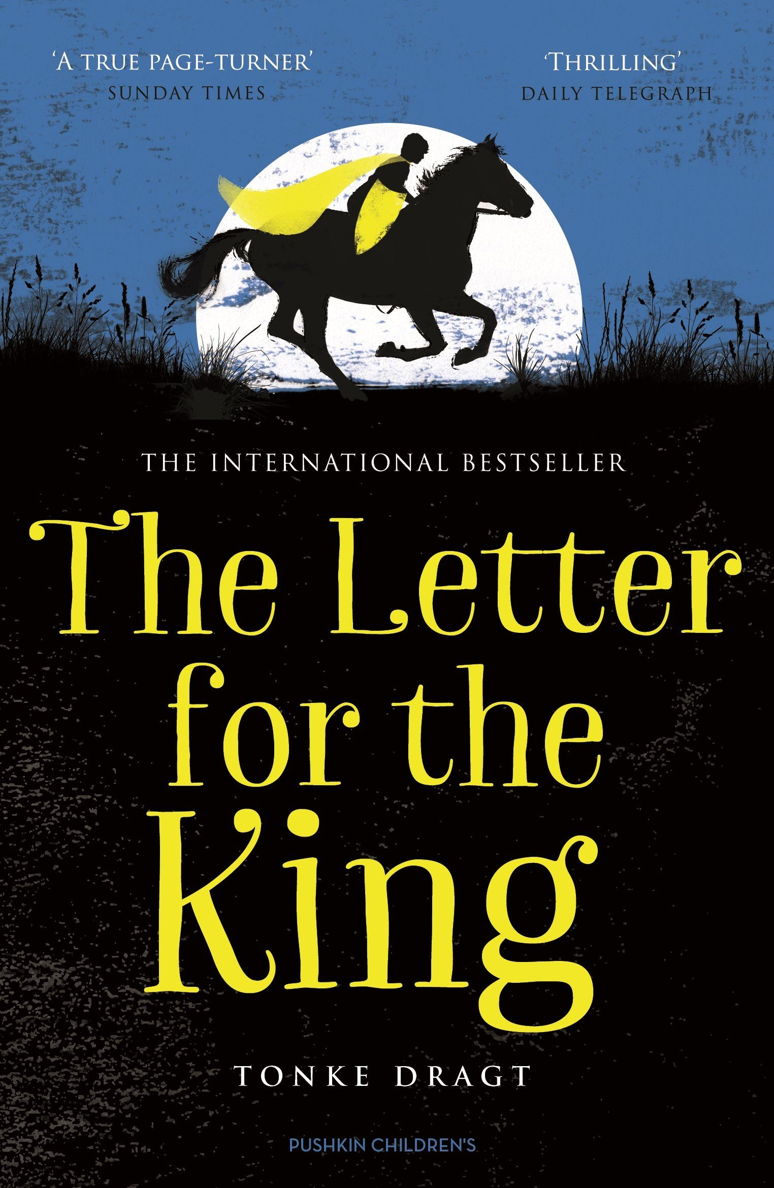 The Letter for the King Author Tonke Dragt Lettering