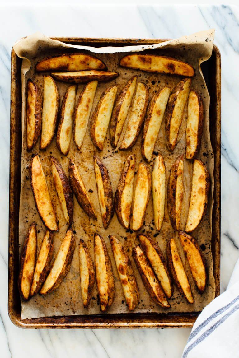 Ultra Crispy Baked Potato Wedges - Cookie and Kate