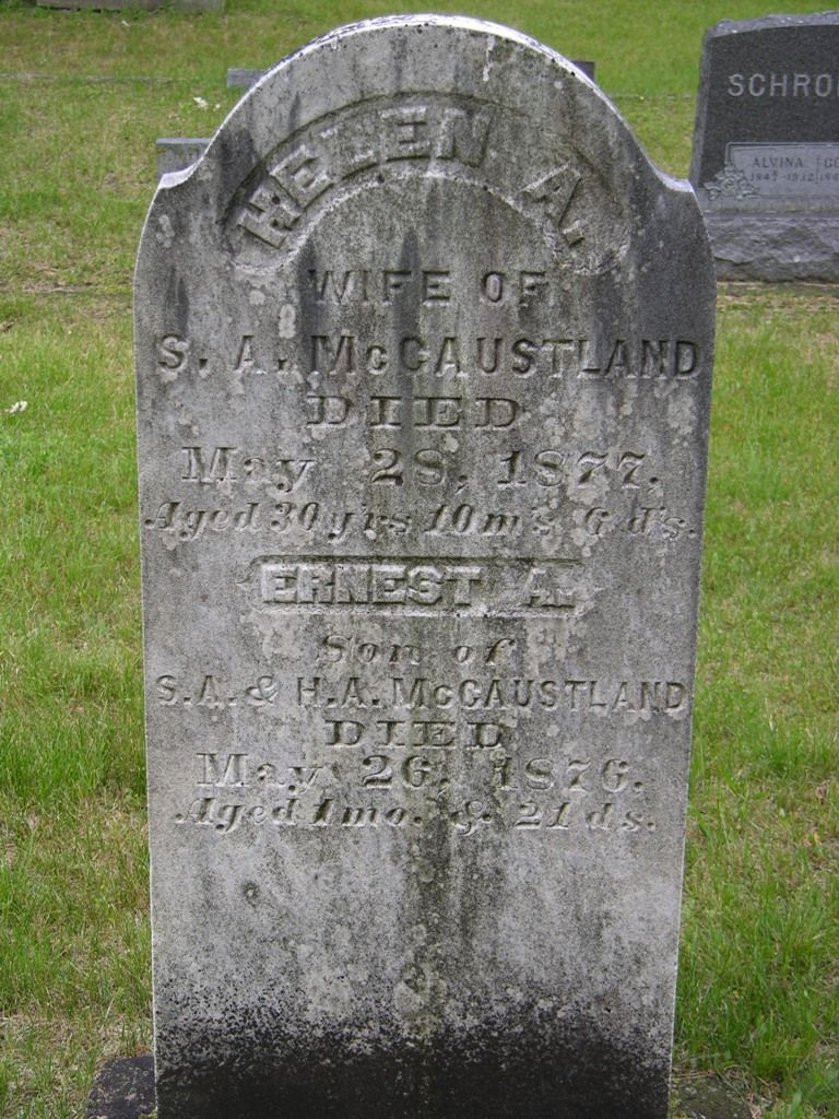 Ernest A McCaustland