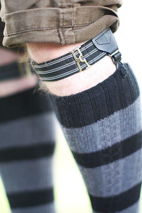 f770e0a0e2c Men s Sock Garters with Stripes - Sock Dreams