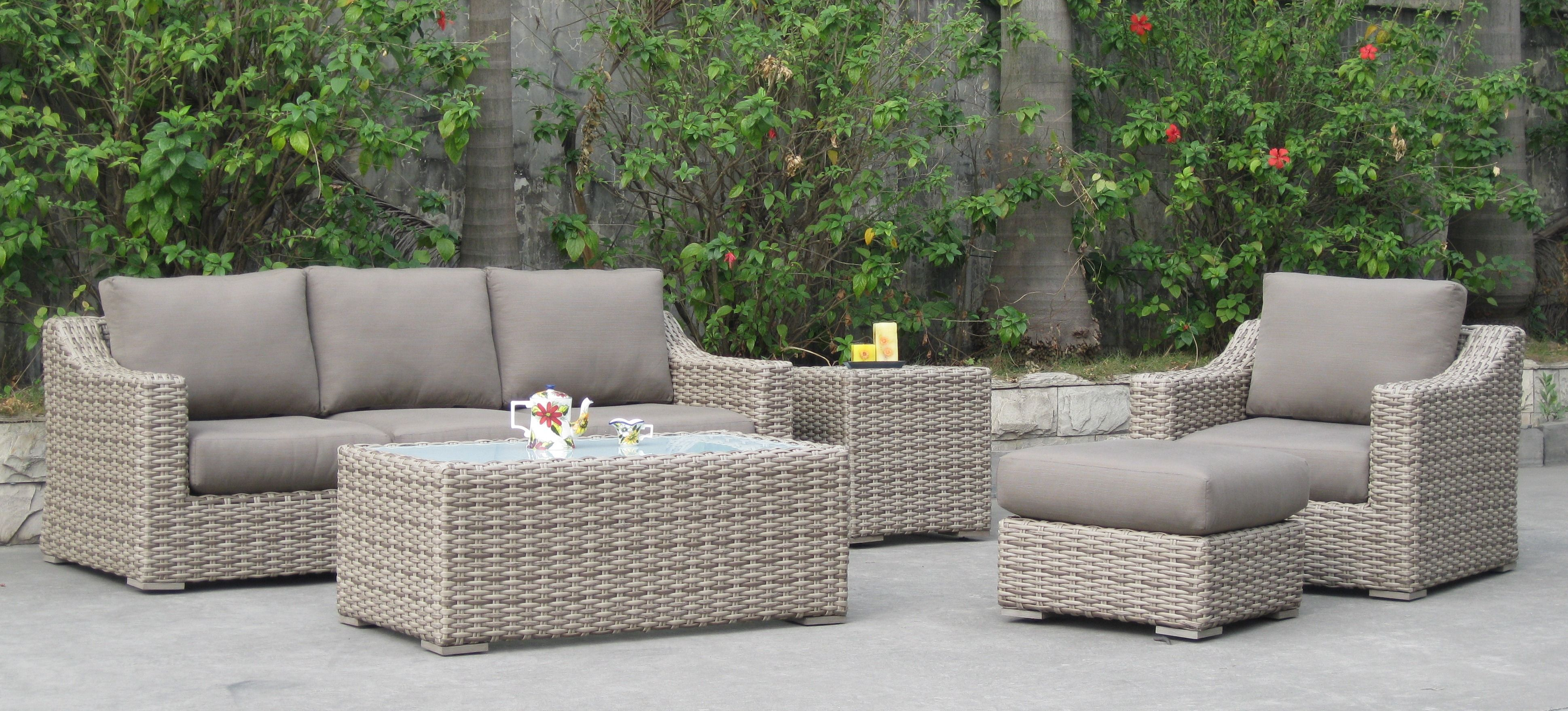 The Sorrento Collection By Patio Renaissance Patio Furniture Replacement Cushions Clearance Patio Furniture Patio Furniture Cushions - Grey Garden Furniture Clearance