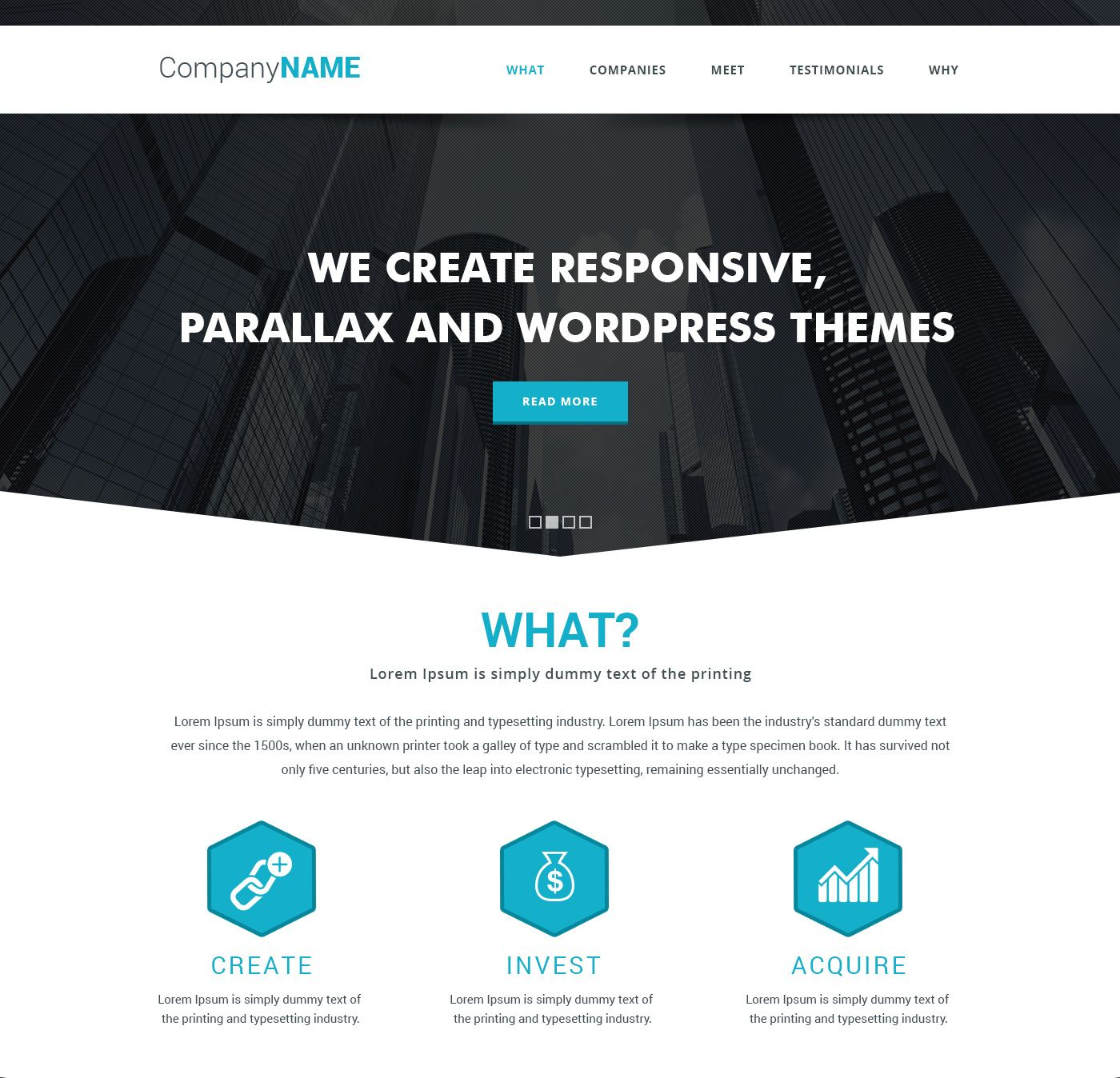 Cool High Quality 45+ Free Corporate And Business Web Templates ...