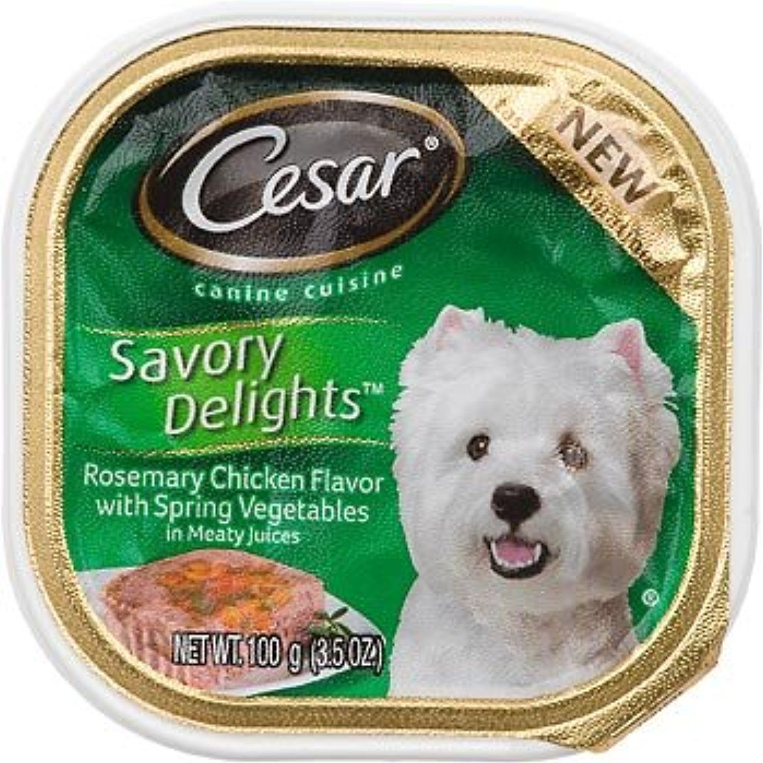 Cesar Savory Delights Rosemary Chicken Flavor With Spring