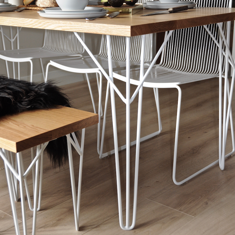 Stand Hairpin Legs Set Of 4 Sillas Mesa Exterior Muebles