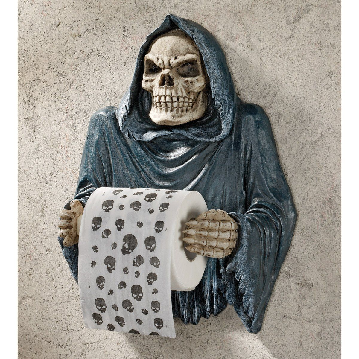 Grim Reaper Sculptural Bath Tissue Tyrant Grab Yours Here