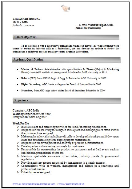 resume writing tips india