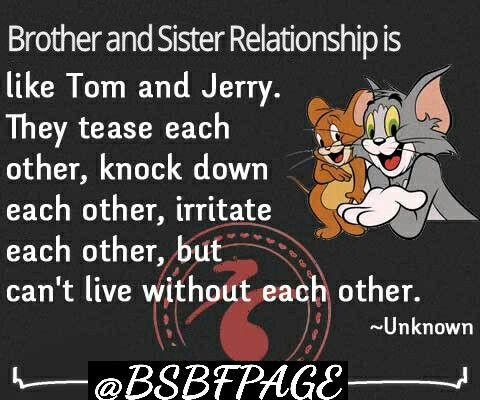 Pin By Brother And Sister Are Best Fr On Brother And Sister Are Best Friends Tom And Jerry Quotes Friends Quotes Happy Birthday Bro Quotes