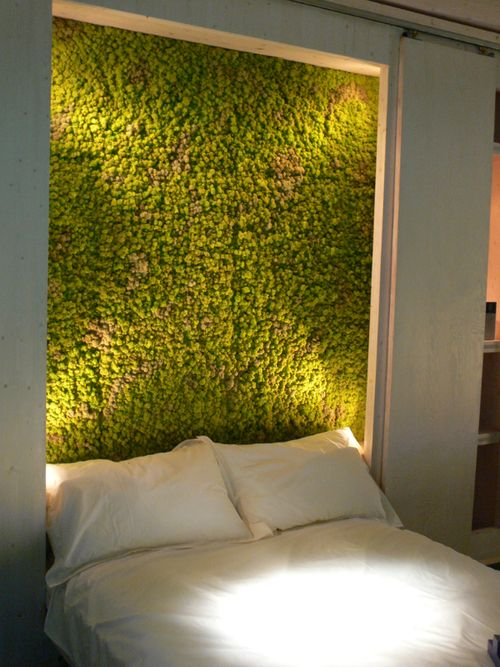 Moss Headboard What do you think of this headboard made from real ...