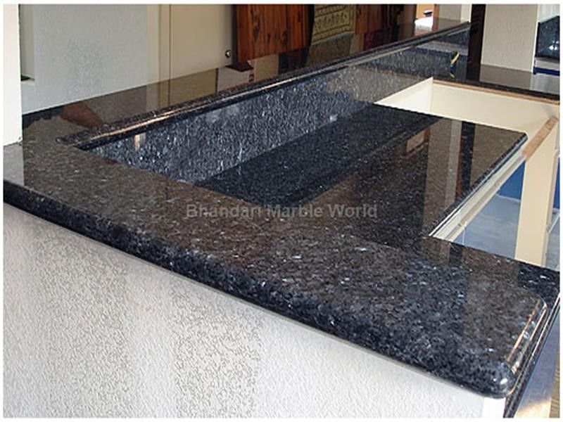 Blue Pearl Granite We Are Manufacturer Exporters And Suppliers In India You Can Contact Us Riico Industrial Area H Blue Pearl Granite Blue Granite Granite