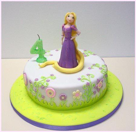 pastel de cupcakes cumpleaños rapunzel - Buscar con Google ...