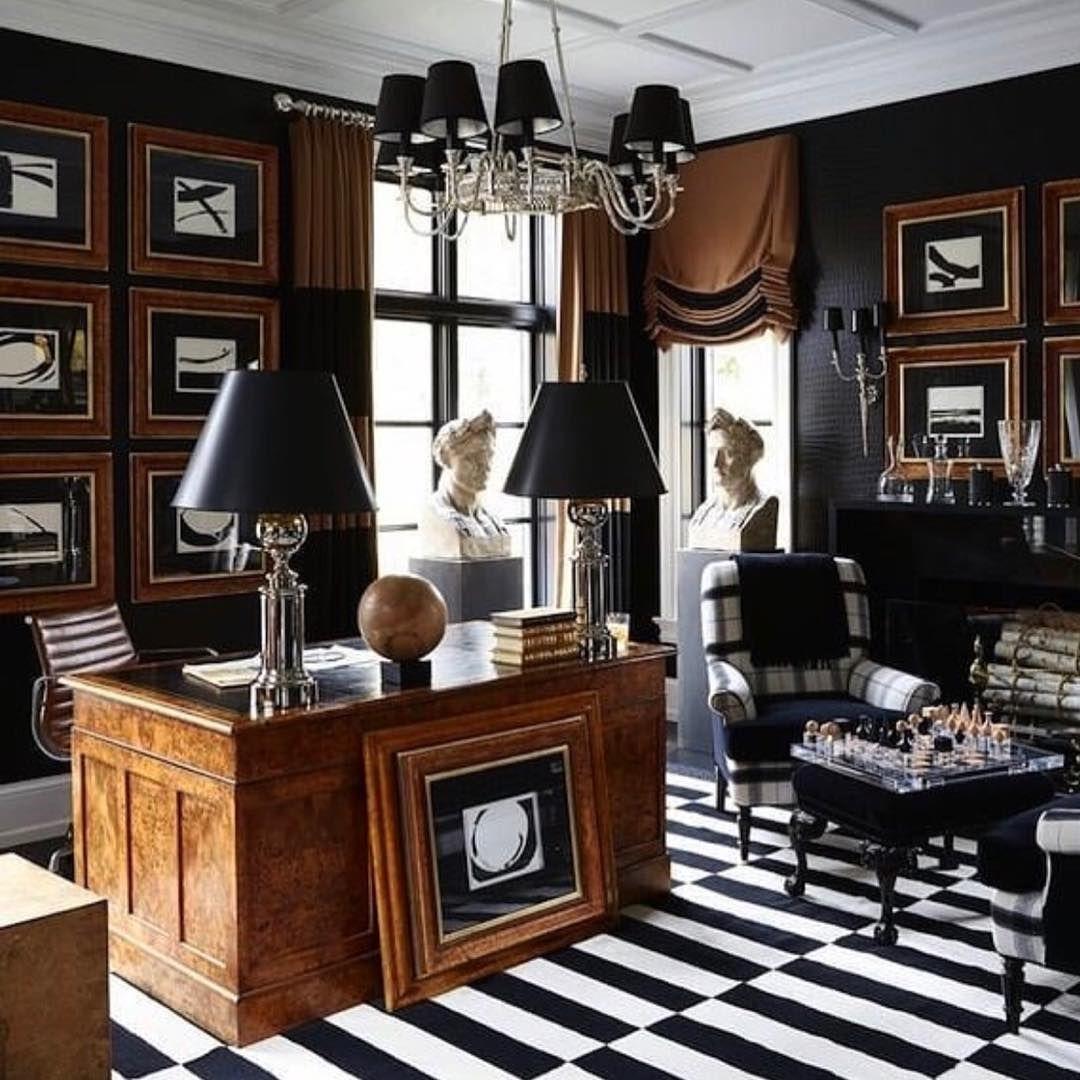Megan Winters Home Office As Shot By Elle Decor