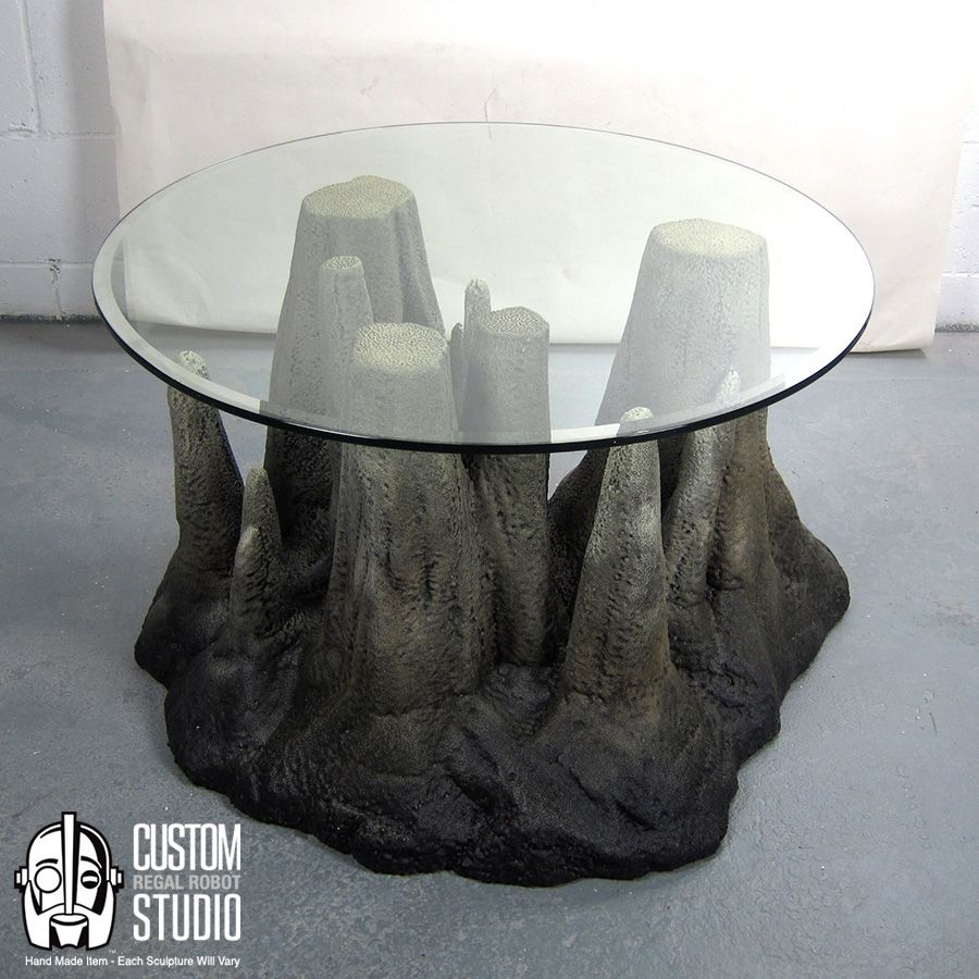 Stalagtable Hand Made Faux Rock Coffee Table Or Side Table