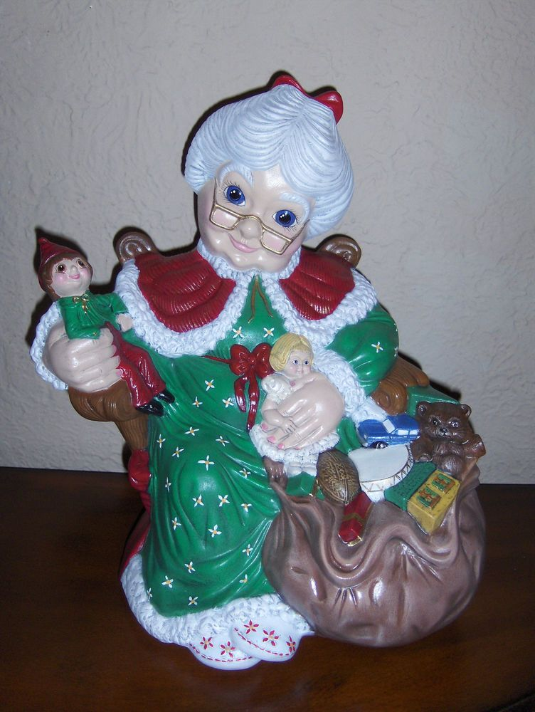 15 H Mrs Claus Christmas Ceramic Bisque Ready To Paint Finish Atlantic A1070 Ceramic Bisque Pottery Painting Painting