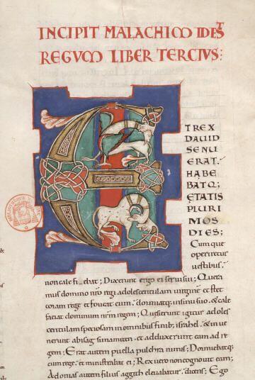 Paris, Bibl. Mazarine, ms. 0001, f. 106