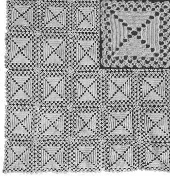 Crocheted Bedspread Patterns Crochet Free Patterns